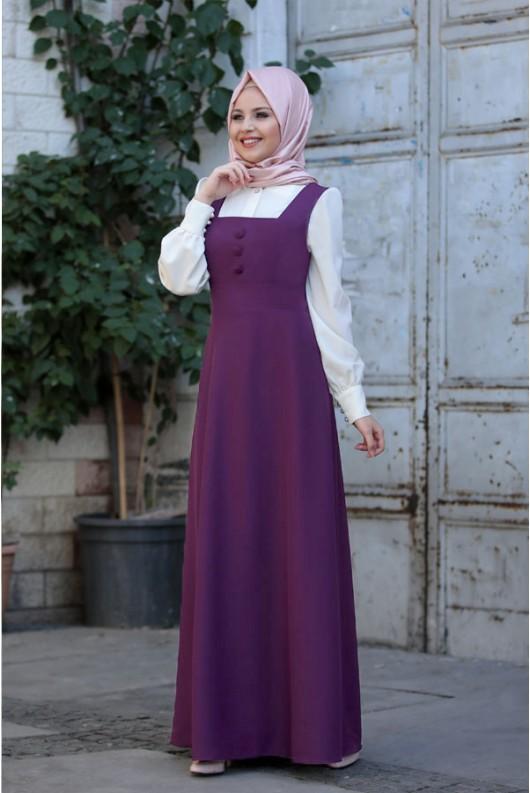 Bonita Gilet Purple
