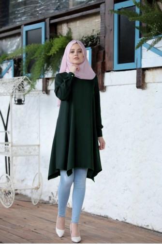 Alara Tunic - Emerald