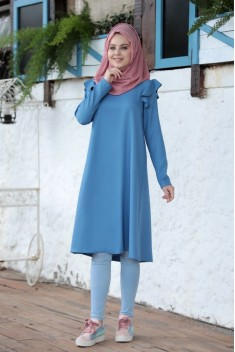 Asil Tunic Blue