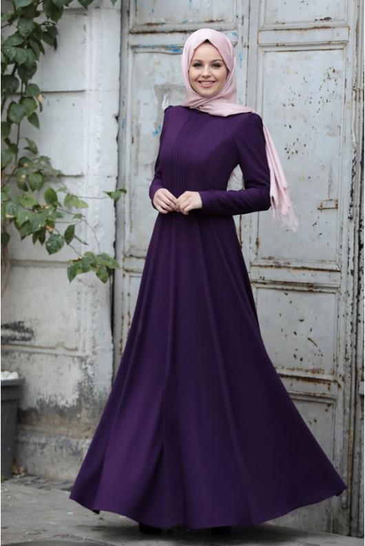Burcu Dress Purple