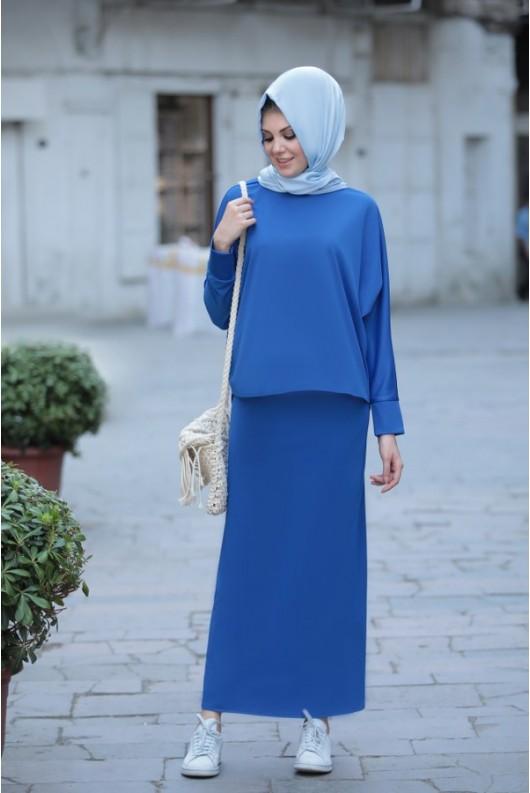 Liya Suit - Blue