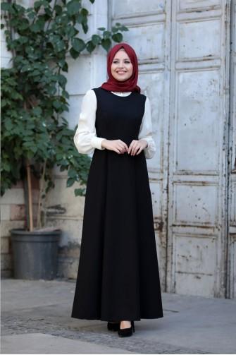 Azra Gilet Black