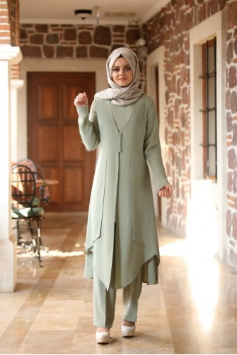 Ahu Suit Light Green