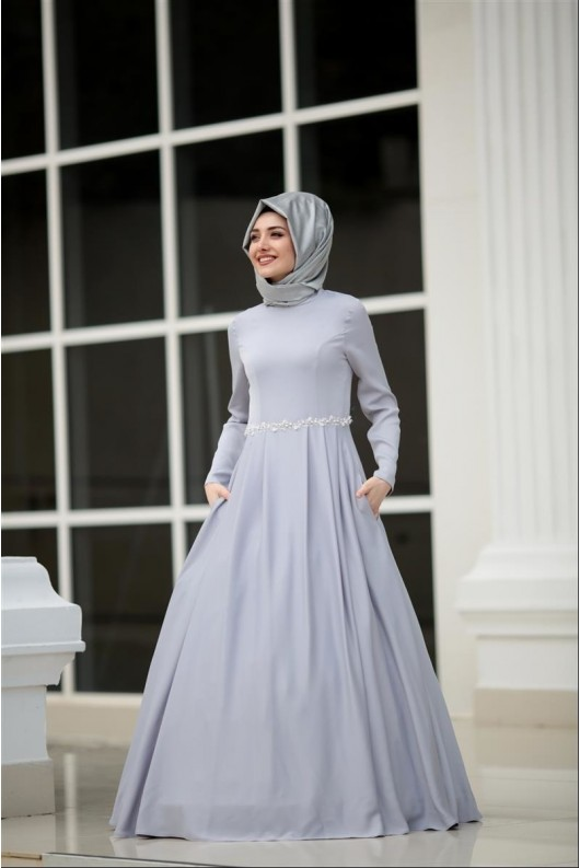Cepli Abaya- Grey