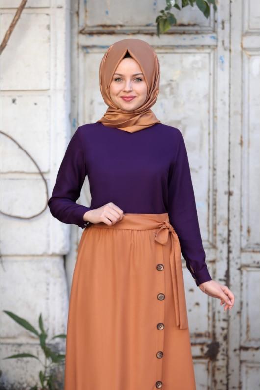 Ayla Skirt Caramel