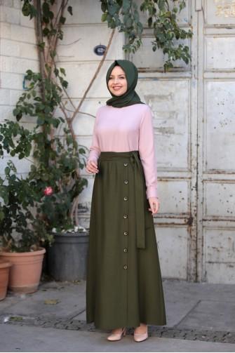 Ayla Skirt Khaki