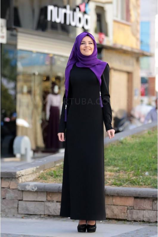 Defne Dress Black