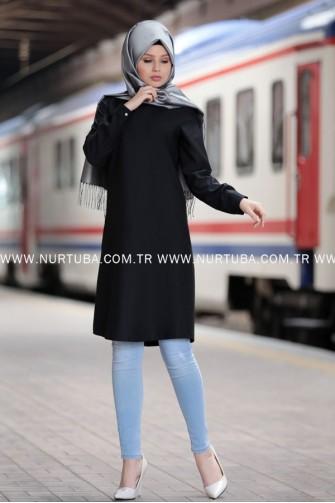 Nurtuba Tunic Black