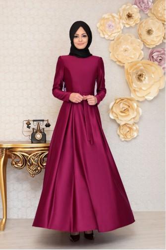 Akasya Dress Fusya