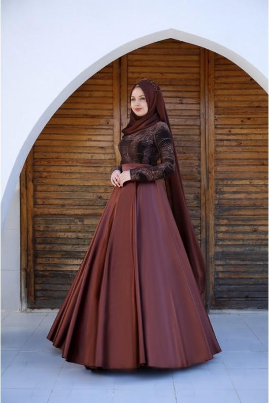 Alicia Dress - Copper