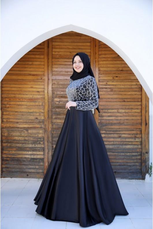 Alicia Leo Dress Black