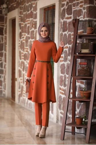 Azra Suit Brick