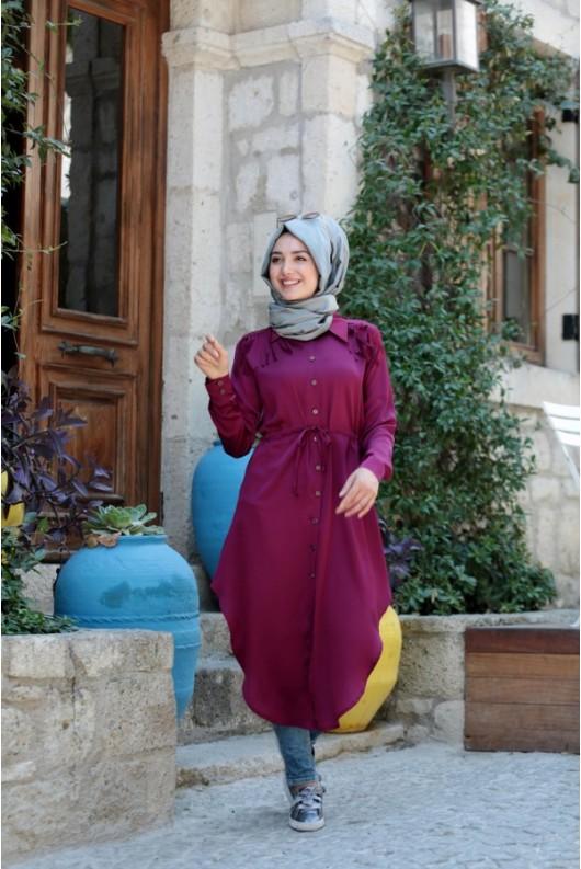 Gamze Polat fringed  tunic