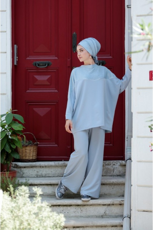 Simli Suit Blue