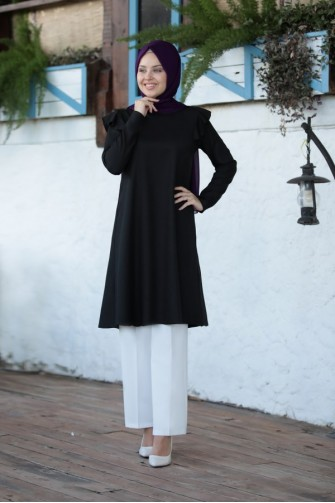 Asil Tunic Black