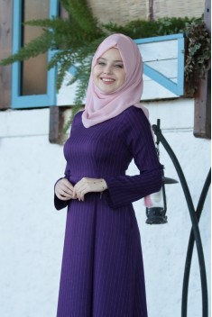 Gaye Dress - Purple