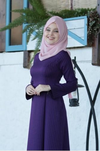 Gaye Dress - Purple
