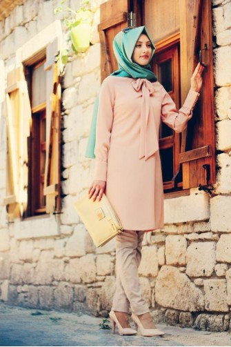 Gamze Polat Tunic-salmon